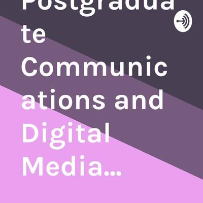Victoria University Postgraduate Communications and Digital Media...