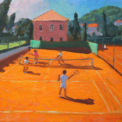 Tennis sweetspot by Tryana
