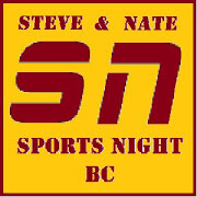 Sports Night: Steve & Nate @ 8