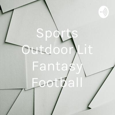 Sports Outdoor Lit Fantasy Football