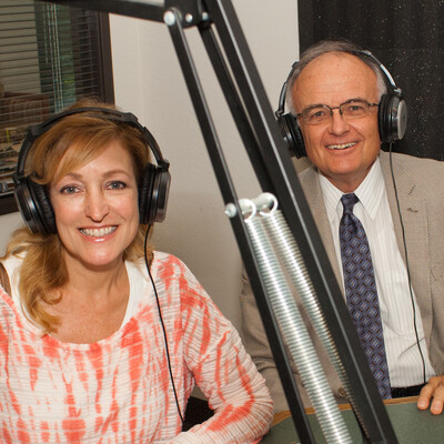 Andrea Kaye and Stan Prowse Legal Eagle Radio