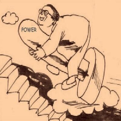Ellan Jay: A Cartoon Biography - Anything For Power