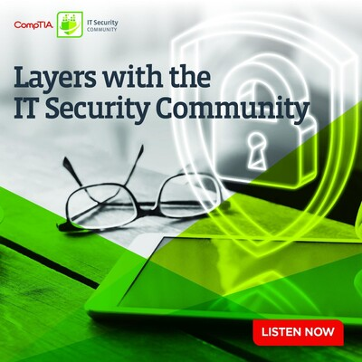 CompTIA Layers with the IT Security Community