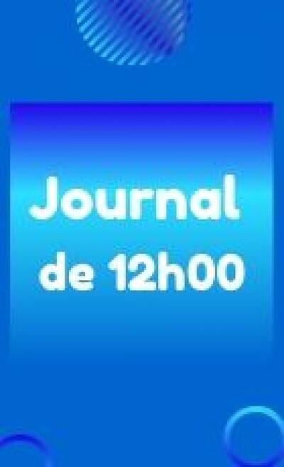 Journal de 12h00 - Mayotte la 1ère