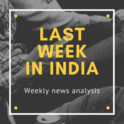 Last week in India