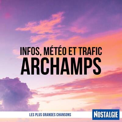 INFOS, METEO et TRAFIC de Nostalgie Archamps