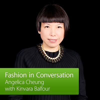 Angelica Cheung with Kinvara Balfour