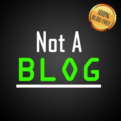 Not A Blog