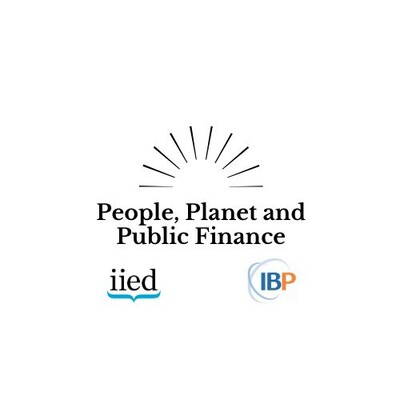 People, Planet and Public Finance