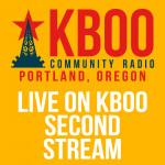 Live on KBOO Second Stream