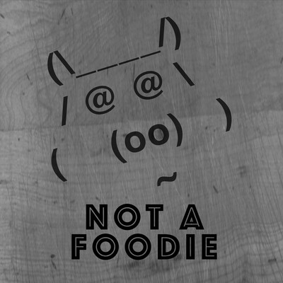 Notafoodie