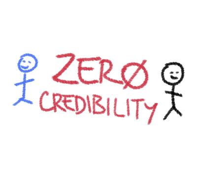 Zero Credibility