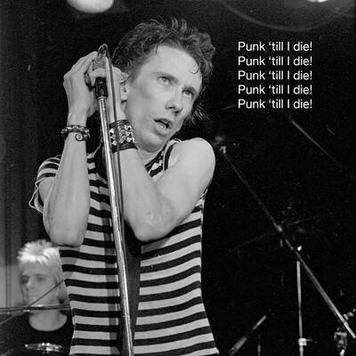 Punk Till I Die