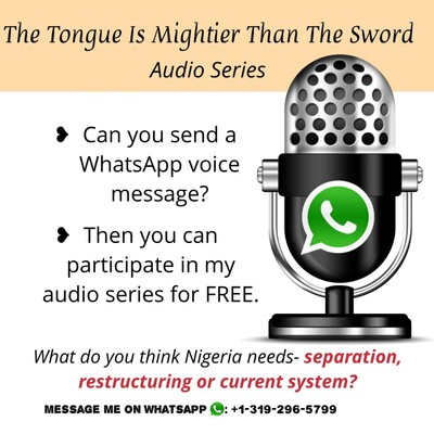 The Tongue is Mightier than the Sword