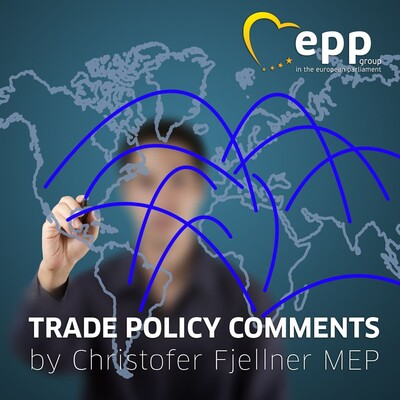 Trade Policy Comments with Christofer Fjellner MEP