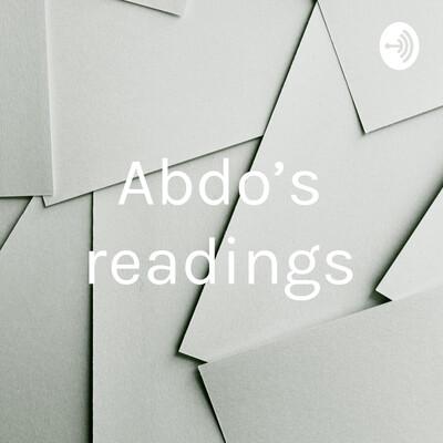 Abdo's readings