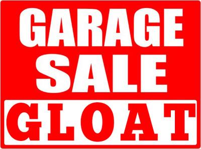 Garage Sale Gloat