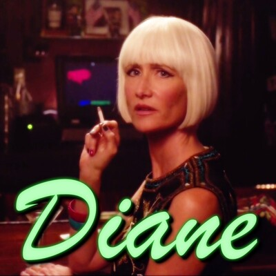 Diane: Entering the town of Twin Peaks