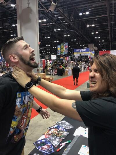 Grown Men Talking Comics (GMTC)