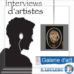 Interviews audio d'artistes exposant à la galerie d'art de l'espace culturel leclerc à gap