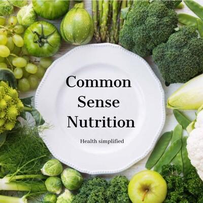 Common Sense Nutrition