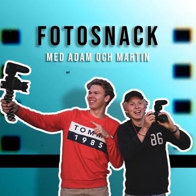Fotosnack med Adam & Martin