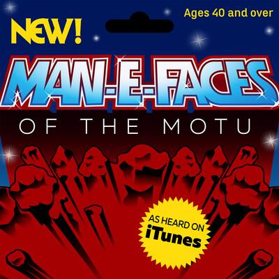Man-E-Faces of the MOTU
