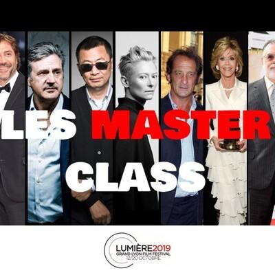 LES MASTER CLASS DU FESTIVAL LUMIÈRE