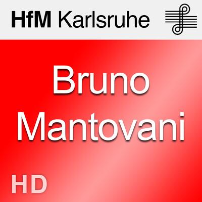 Meisterkurs Bruno Mantovani