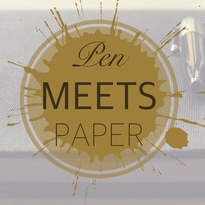 Pen meets paper