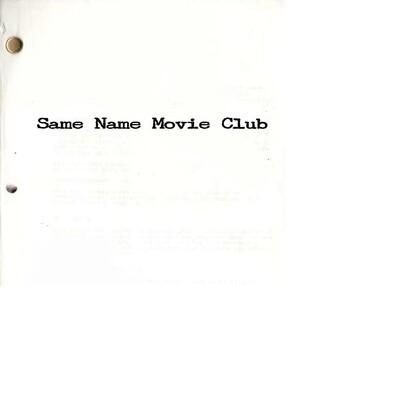Same Name Movie Club