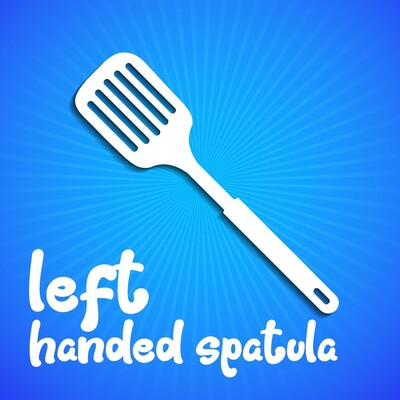 Left Handed Spatula by PJP