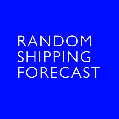 Random Shipping Forecast