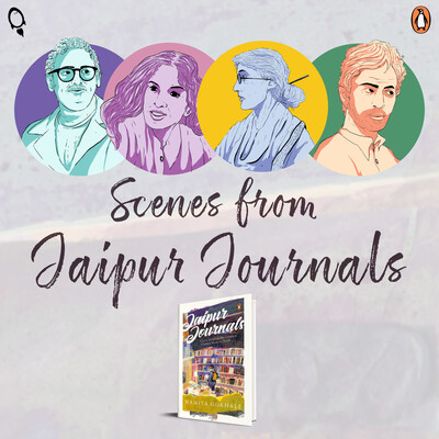 Scenes from Jaipur Journals