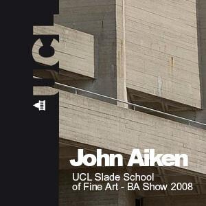 UCL Slade School of Fine Art BA Summer Show 2008 - Audio