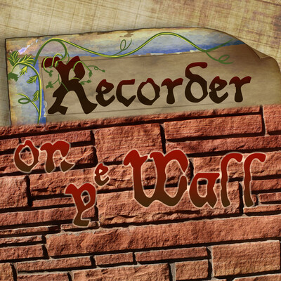 Recorder on the Wall Podcast
