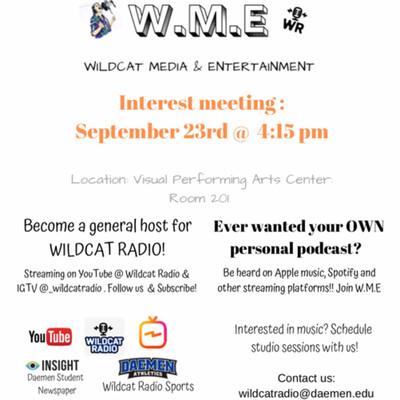 W.M.E Interest meeting