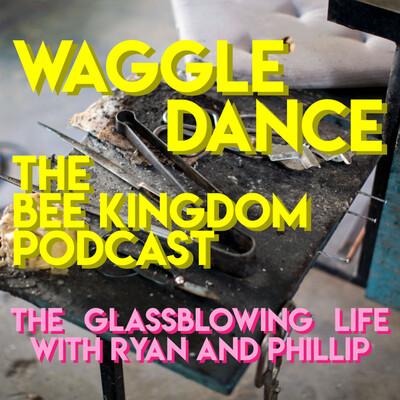 Waggle Dance from Bee Kingdom Glass