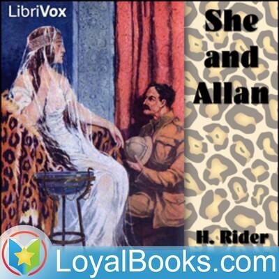 She and Allan by H Rider Haggard