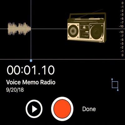 Voice Memo Radio