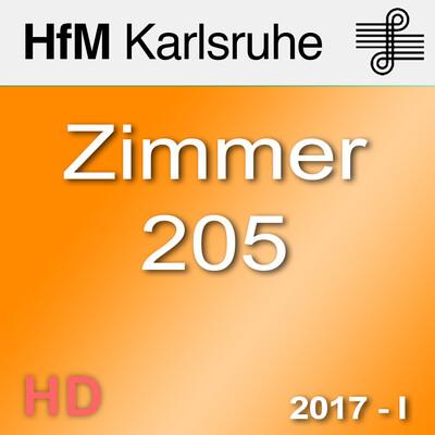 Zimmer 205 - Sommersemester 2017