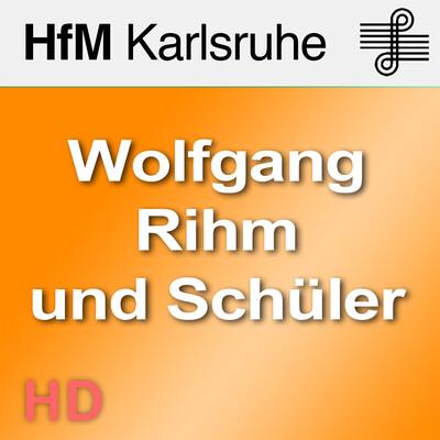 Wolfgang Rihm und Schüler