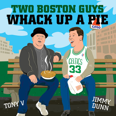 Two Boston Guys Whack Up A Pie