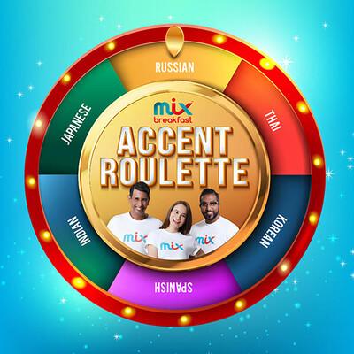 Accent Roulette
