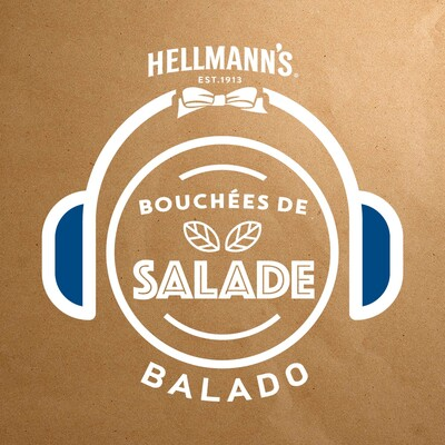 Bouchées de salade: le balado du Jardin d'Idée Salade d'Hellmann's