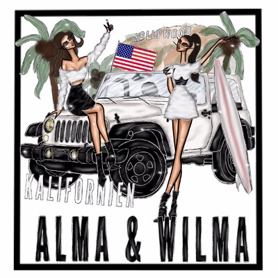 Alma och Wilma, livet i Kalifornien