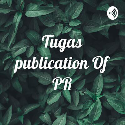 Tugas publication Of PR