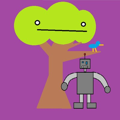 Android and the Tree