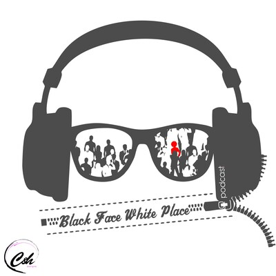 Black Face White Place