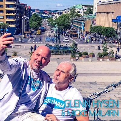 Glenn Hysén o Micke Målarn